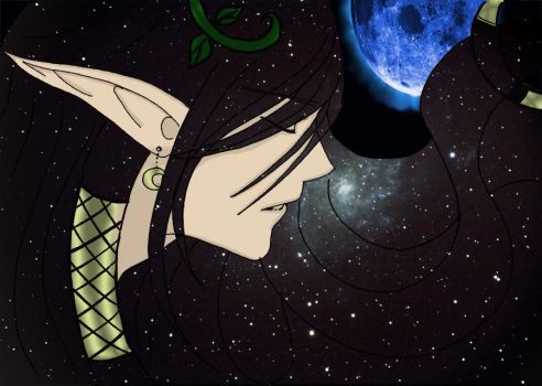 Finding light in the stars by HaChan