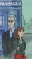Clara and the Doctor (Doctor Who) by SmudgeThistle