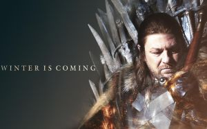 Eddard Stark Wallpaper by Rozensieg