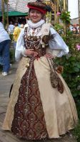 Tapestry Court Gown1 by ladylucrezia