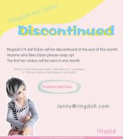 Ringdoll kid Dylan Discontinued by Ringdoll