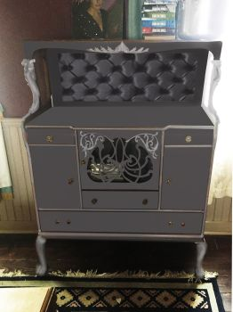 Painted Furniture Test for Arsenic and Old Lace by LocationCreator