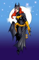 batgirl by bill maus colors by jam-bad