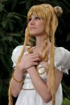 Praying Princess Serenity by Tazziecosplay