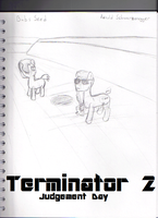 Terminator 2: One Bad Seed by Luckyeater