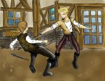 Romeo and Tybalt by DemanQc