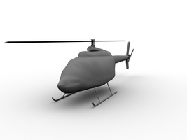 Helicopter model by scyleung