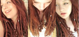 my dreads by iWonderland