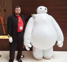 Gendo and Baymax by sentinel28a