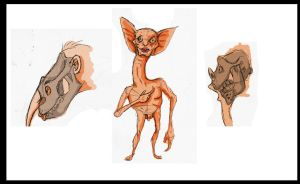 Sketches of post-human. by deinoscaos