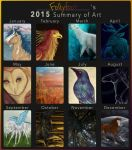 2015 Summary of Art by Follyfoot