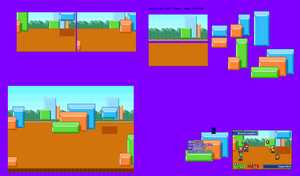 MLSS SMB3 Background Battle by Chrispriter89