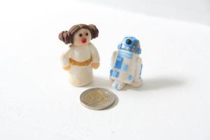 Princess Leia and R2-D2 by Ompabop