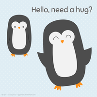 Need a hug? by apparate