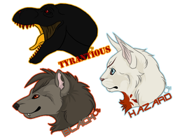 Sticker Commissions by NathalieNova