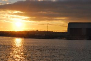 Sunset on the Mersey by Rodimus80