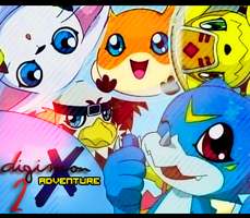 +Banner+ Digimon adventure 2 by MissPink95