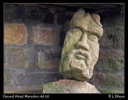 Carved Head Marsden rld 01 dasm by richardldixon