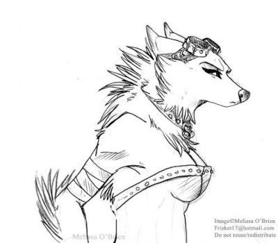 Worgen Female - Airesy Test 1 by frisket17
