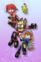 Sonic Archie attempt by Olive-Owl