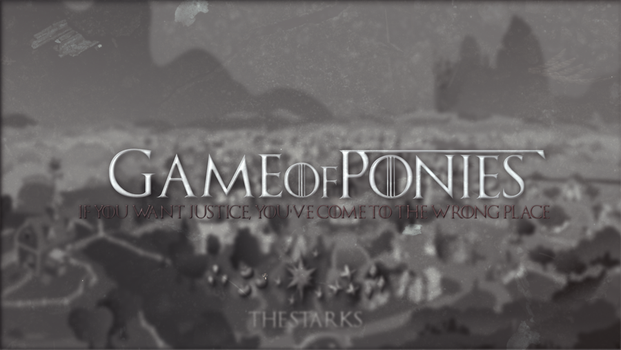 Game of Ponies - Wallpaper [1920x1080] by Nakan0i