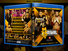NXT Takeover : Rival custom Blu-ray cover by Mohamed-Fahmy