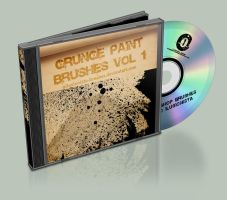 Grunge Paint Brushes Vol. 1 by OIlusionista-brushes