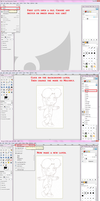 Tutorial: Coloring Sketches by Heartiful