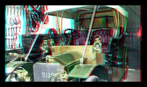old car anaglyph by Maysmum