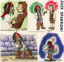 Various Cpt Jack Sparrow pics by Ferntree