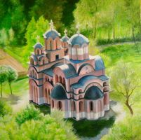 Covdin Church by Putnik