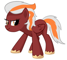 Blazing Storm - Pony OC by pepooni