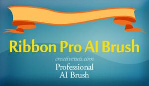 Ribbon - Pro Illustrator Brush by Grasycho