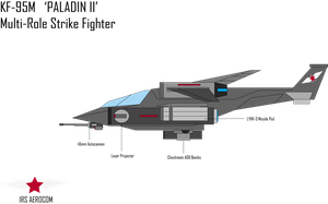 KF-95M 'Paladin II' Strike Fighter by Target21