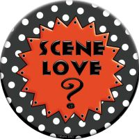 Scene Love  Button by raven-haven-creation