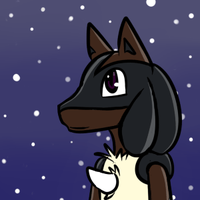 [Commission] Lucario Avatar by Anidra