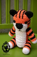 Calvin and hobbes tiger by fayettedream