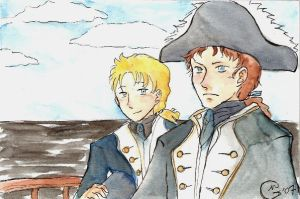 Horatio and Archie by imabubble