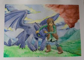 How to train you dragon by Wictorian-Art