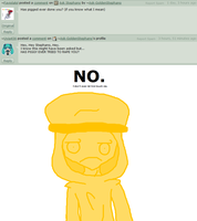 Question 37 - Has piggeh tried to...? by Ask-GoldenStephano