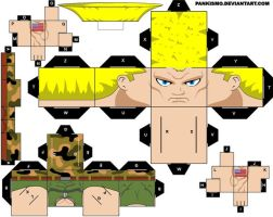 Guile Cubee by Pankismo
