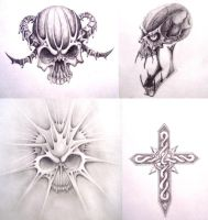 Personal Tattoo designs by ashes48