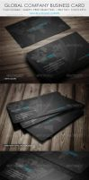 Global Group Business Card by vitalyvelygo