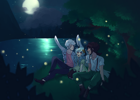 EE | Firefly Viewing by kingkimochi