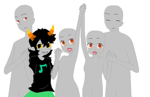 Homestuck troll oc collab by Gopan32