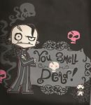 you smell dead by Little-miss-punkette