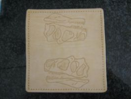 Allosaurus Wallet-WIP by FattDaddyLeather