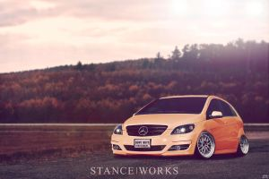 Mercedes-Benz B 55 AMG STANCEWORKS by Sk1zzo