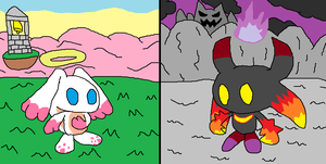 The Chao Lords, Cosmos and Chaos by PokemonDoctor100