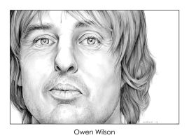 Owen Wilson by gregchapin